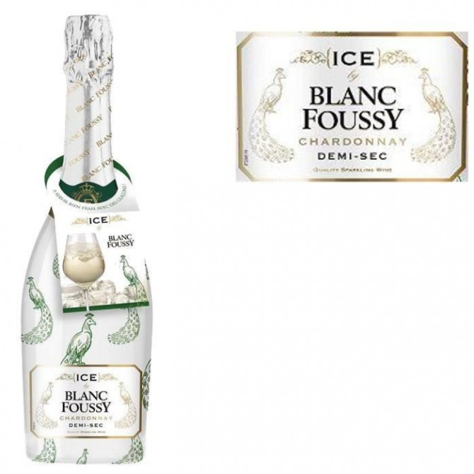Sparking wine Ice Blanc Foussy