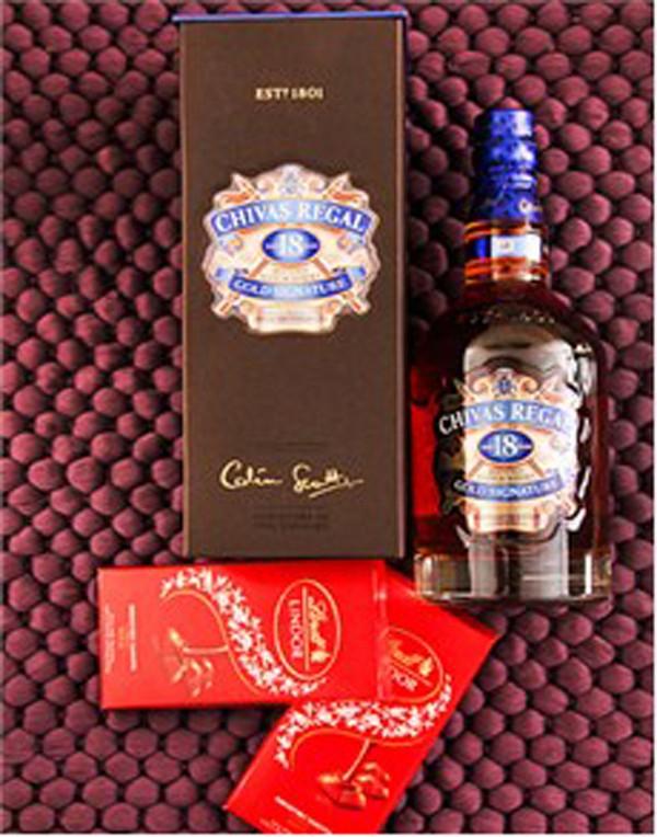 Chivas Regal and Chocolat Lindt