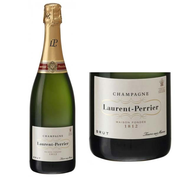 Bottle of Champagne Laurent Perrier