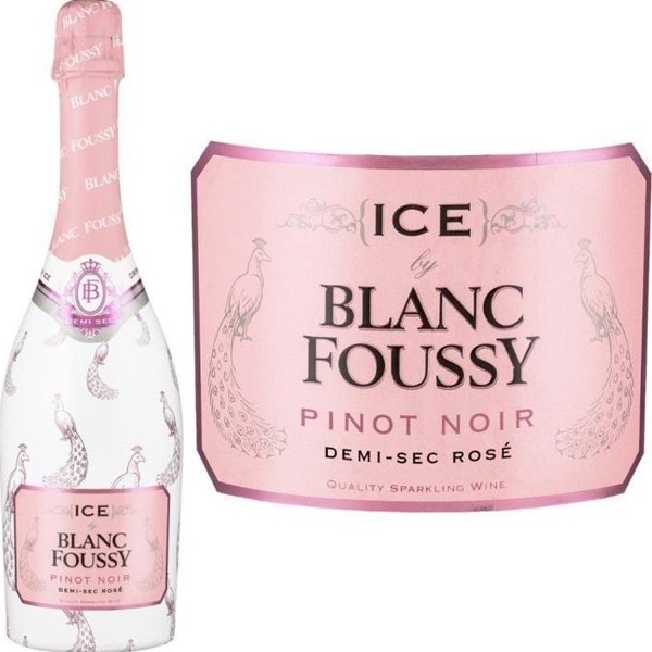 Sparking wine Ice Blanc Foussy Rose