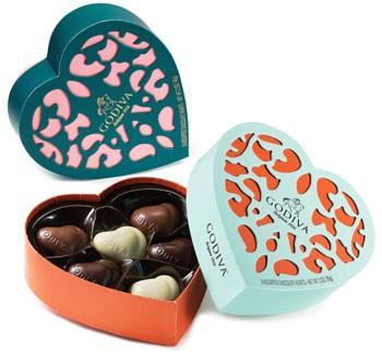Godiva Heartshape chocolate