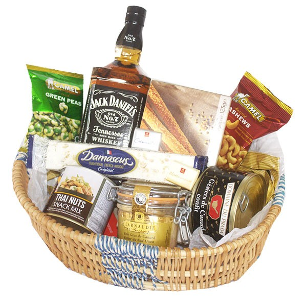 Supreme spirited Jack Daniel basket