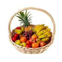 Panier fruits ananas