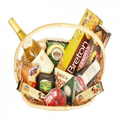 Cheese Gourmet basket