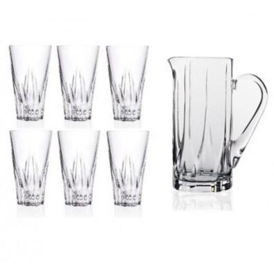 RCR Crystal Drink Set Fluente