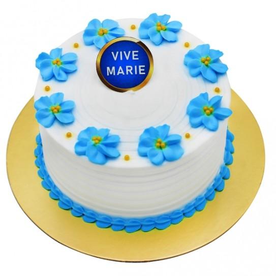 Virgin Mary Celebration Cake