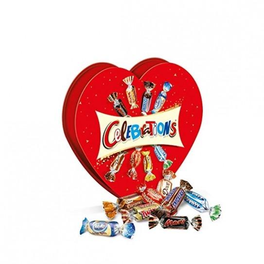 Chocolat Celebrations Coeur