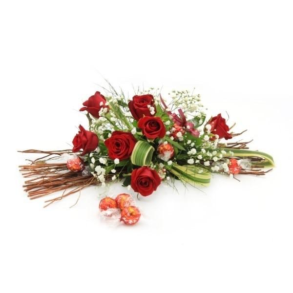 Chocs and roses