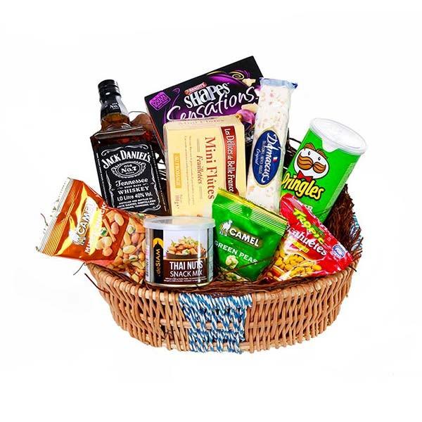 Spirited basket