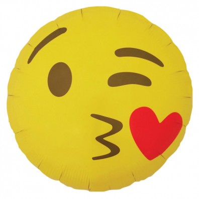 Balloon Smiley Kiss